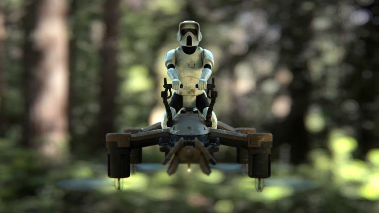Star Wars 74Z Speeder Bike Drone